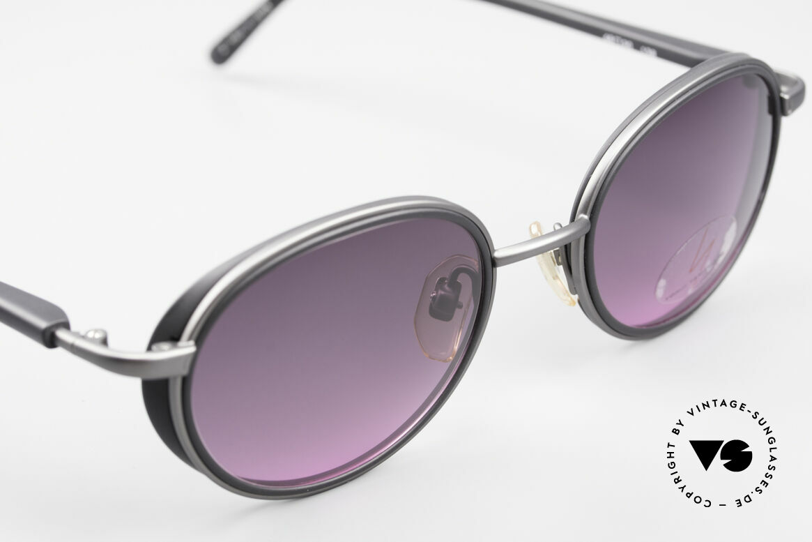 Yohji Yamamoto 51-6201 Seitenblenden Sonnenbrille, ungetragen (wie alle unsere vintage Designer-Brillen), Passend für Damen