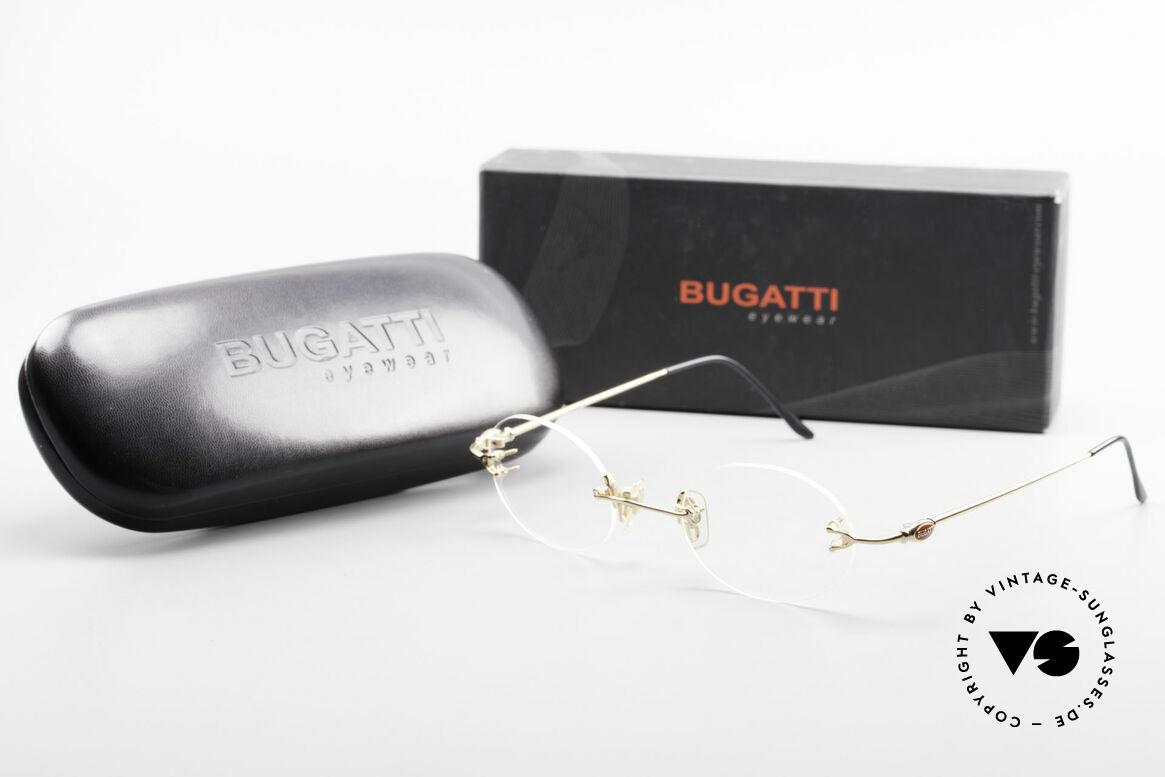 Bugatti 15308 Randlose Luxus Fassung Oval