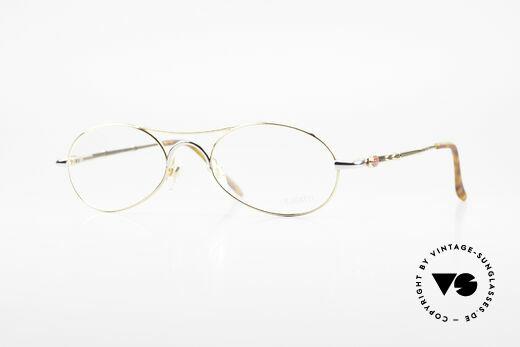 Bugatti 10608 Rare 90er Herren Luxusbrille Details