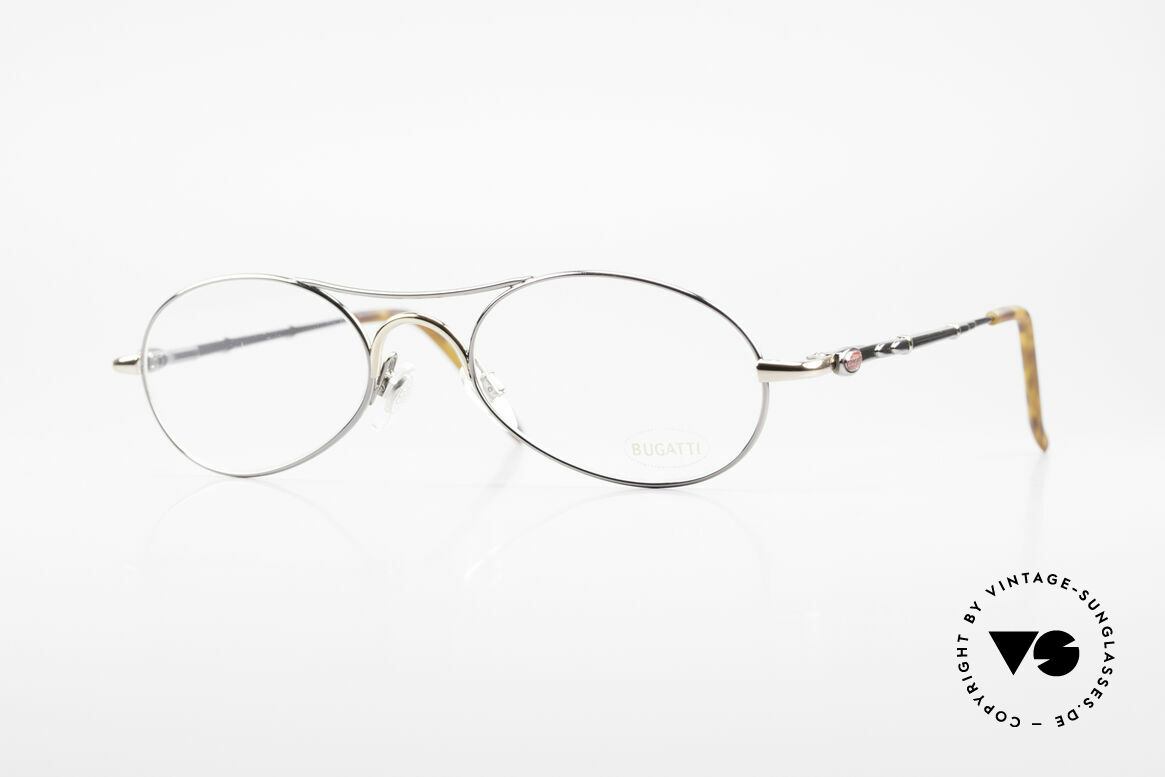 Bugatti 10692 Vintage Herren Luxusbrille, sehr elegante vintage BUGATTI Brillenfassung, Passend für Herren