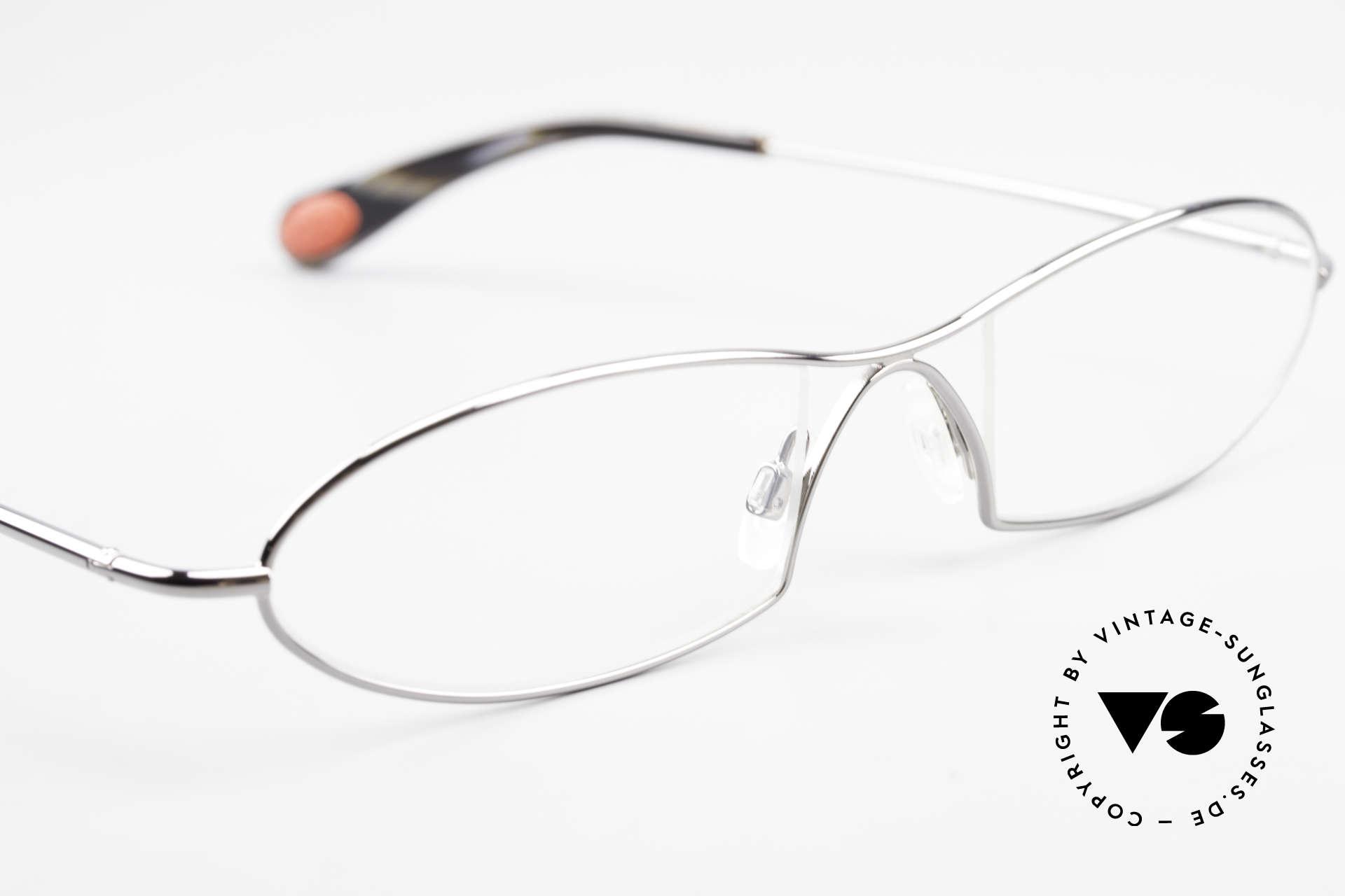 Bugatti 343 Odotype Herren Vintage Designer Brille, Modell als Brille oder Sonnenbrille verglasbar, Passend für Herren