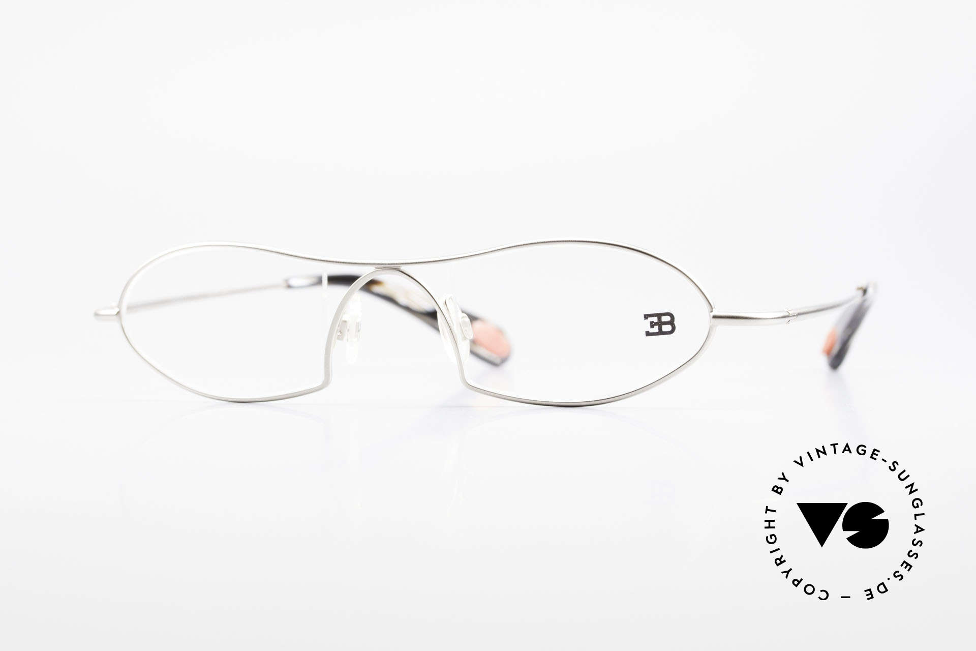 Bugatti 351 Odotype Designer Herrenbrille Luxus, ORIGINAL high-tech Bugatti Brillenfasssung, Passend für Herren