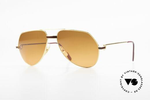 Cartier Vendome Laque - M Luxus Sonnenbrille Aviator Details