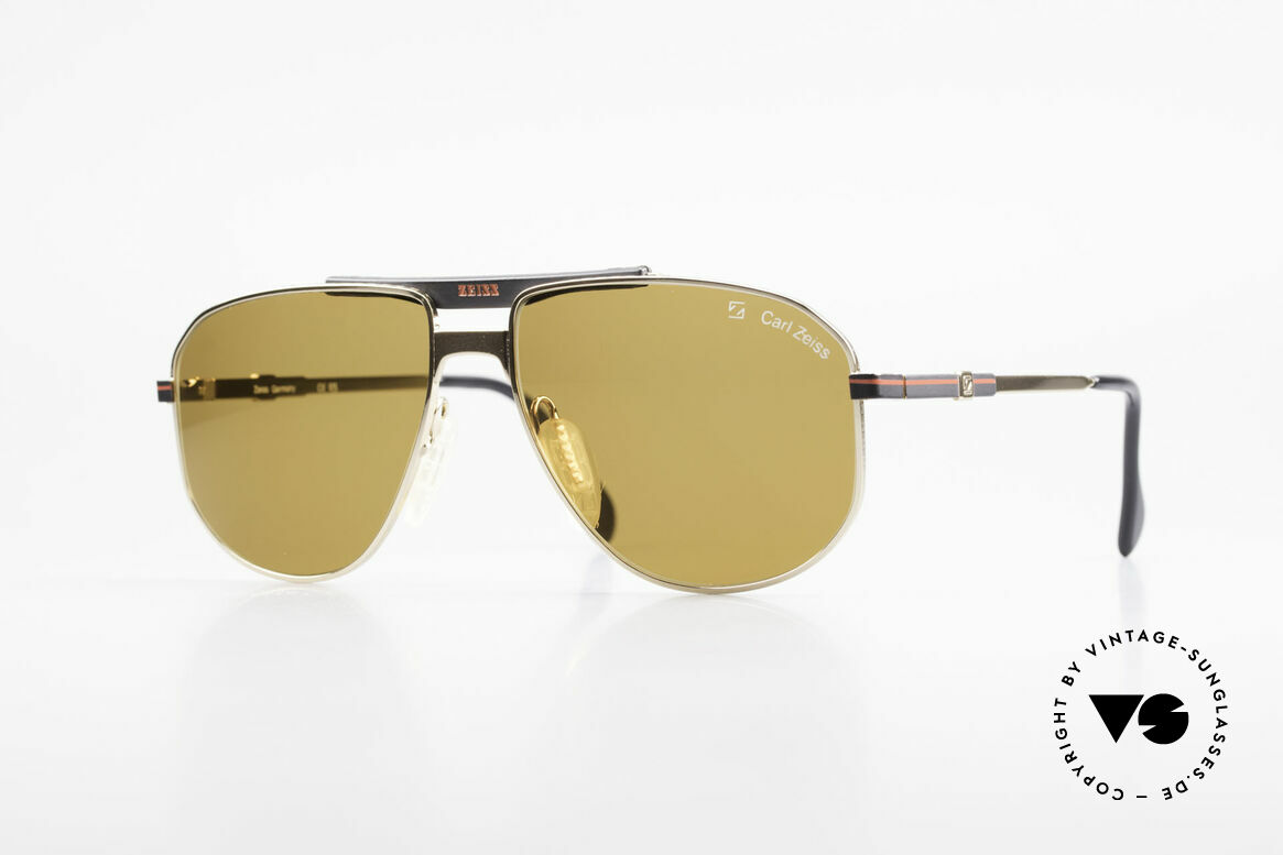 Zeiss 9934 90er Vintage Sonnenbrille, hochwertige ZEISS Germany VINTAGE Sonnenbrille, Passend für Herren