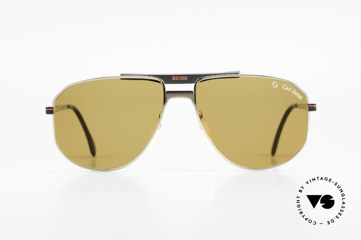 Zeiss 9934 90er Vintage Sonnenbrille, herausragende Fertigungsqualität (muss man fühlen), Passend für Herren