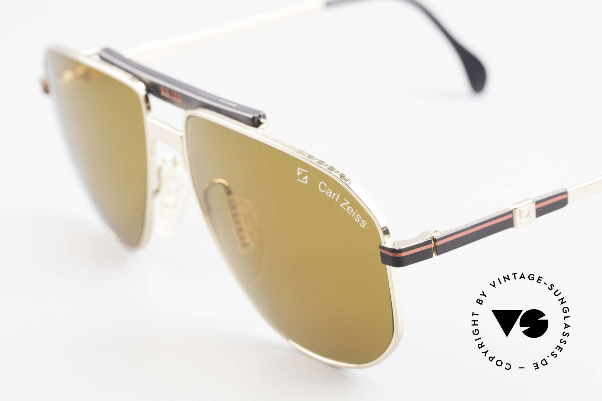Zeiss 9934 90er Vintage Sonnenbrille, ungetragen (wie alle unsere 90er Zeiss Sonnenbrillen), Passend für Herren