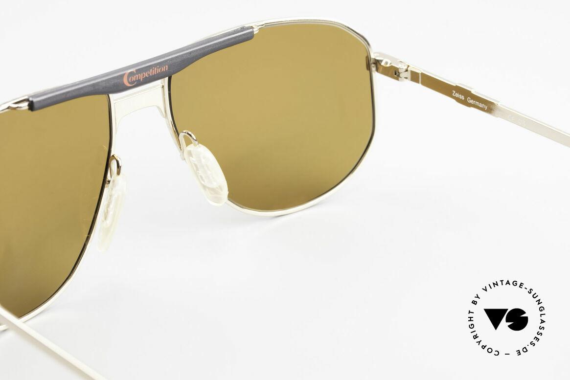 Zeiss 9934 90er Vintage Sonnenbrille, Größe: large, Passend für Herren
