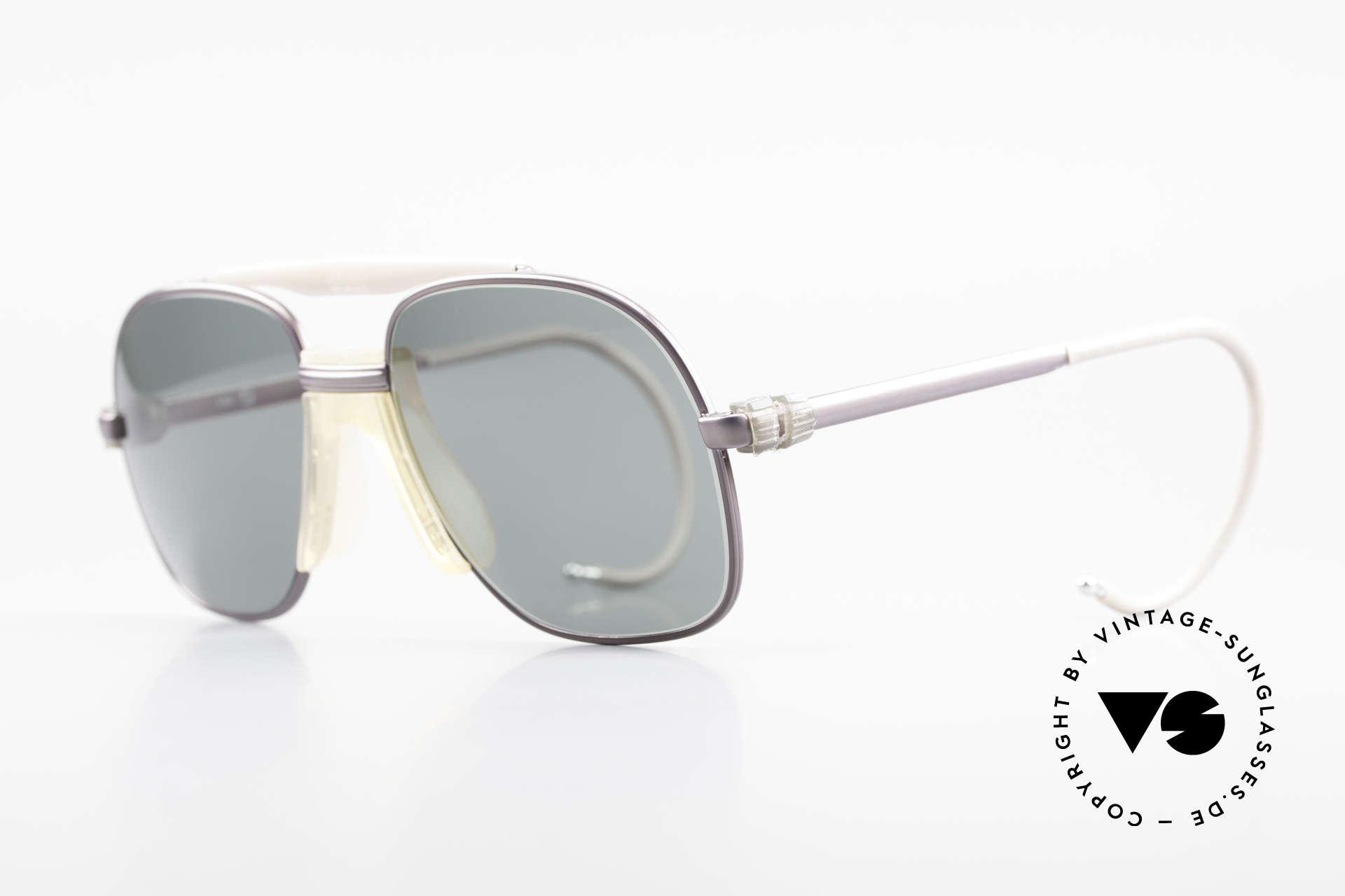 Zeiss 7037 Sportsonnenbrille Old School, flexible Sport-Bügel für idealen Halt & 100% UV Schutz, Passend für Herren und Damen