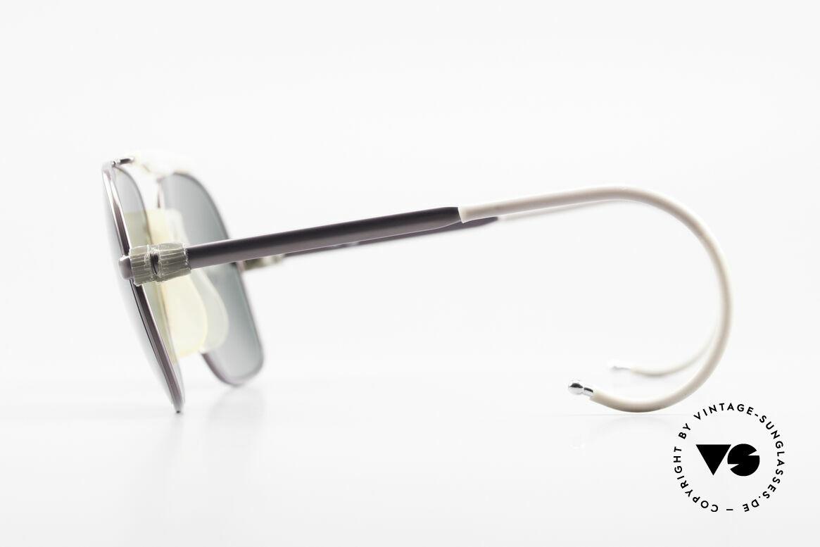Zeiss 7037 Sportsonnenbrille Old School, sehr eigenwillig in Form und Farbe in KLEINER GRÖßE!, Passend für Herren und Damen