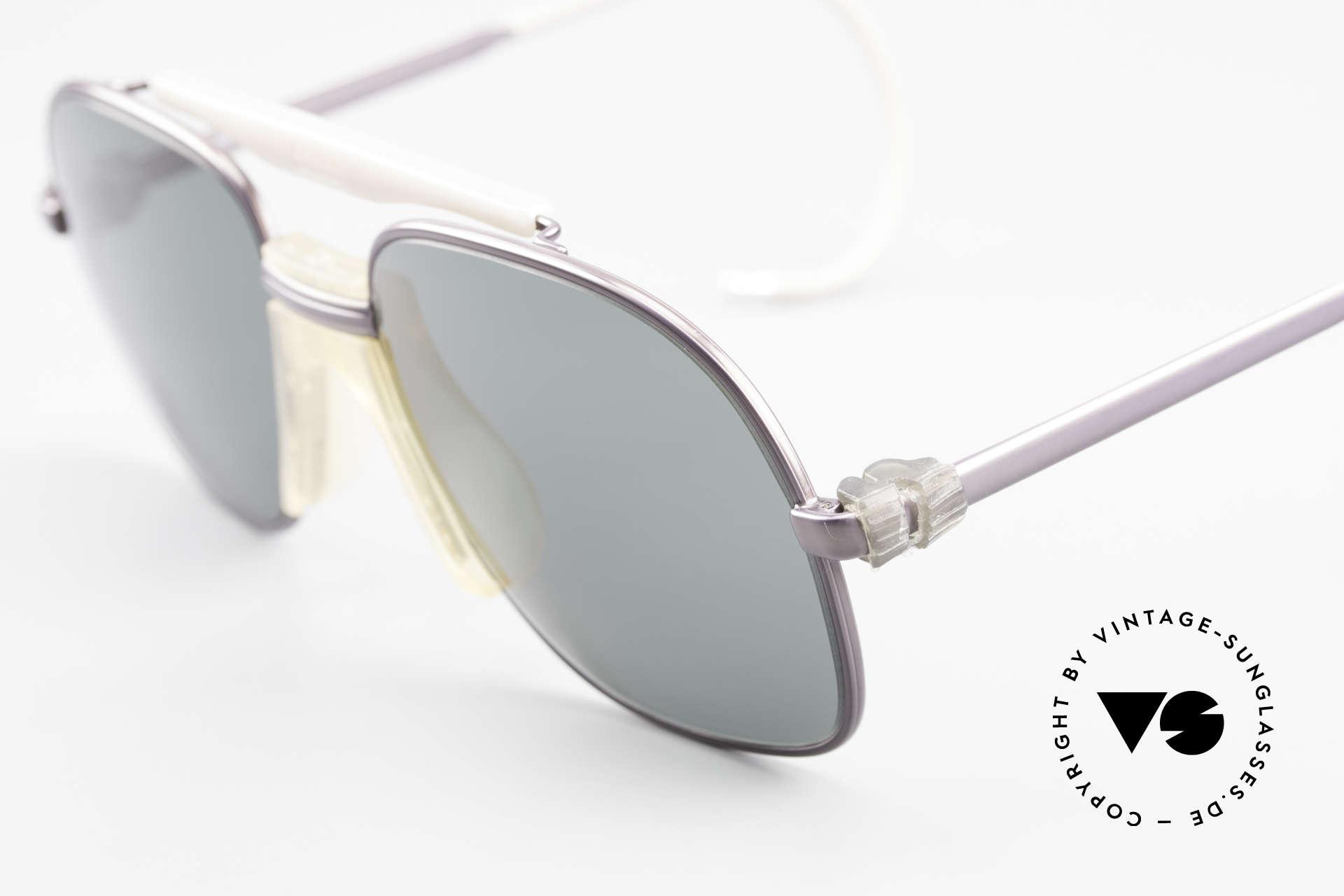 Zeiss 7037 Sportsonnenbrille Old School, ungetragen (wie alle unsere WEST GERMANY Brillen), Passend für Herren und Damen