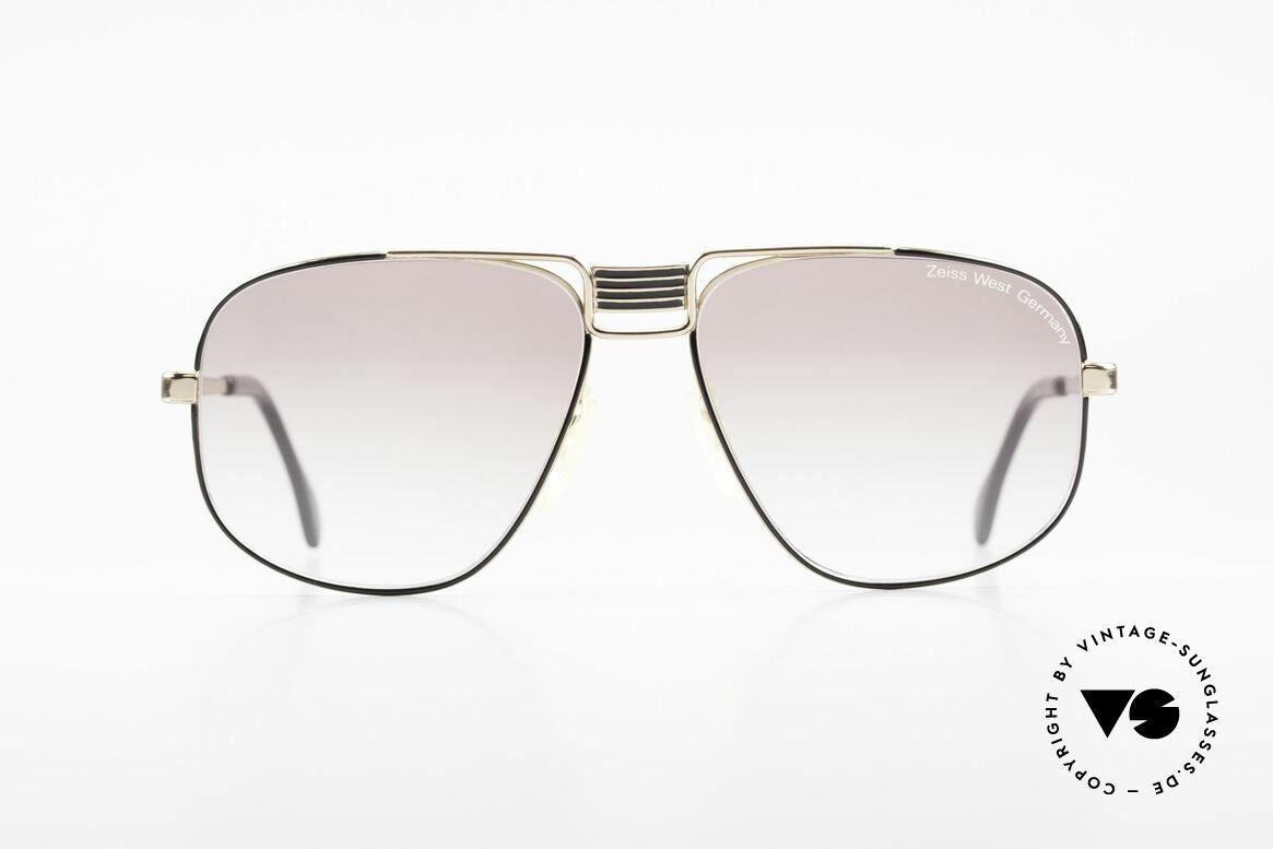 Zeiss 9387 Extra Grosse 80er Herrenbrille, sehr elegante Rahmenkonstruktion in XL-Größe, Passend für Herren