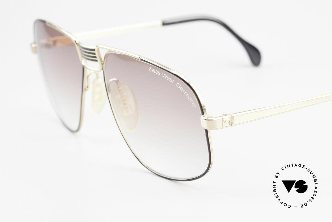 Zeiss 9387 Extra Grosse 80er Herrenbrille, hochwertige ZEISS Sonnengläser ; 100% UV Schutz, Passend für Herren