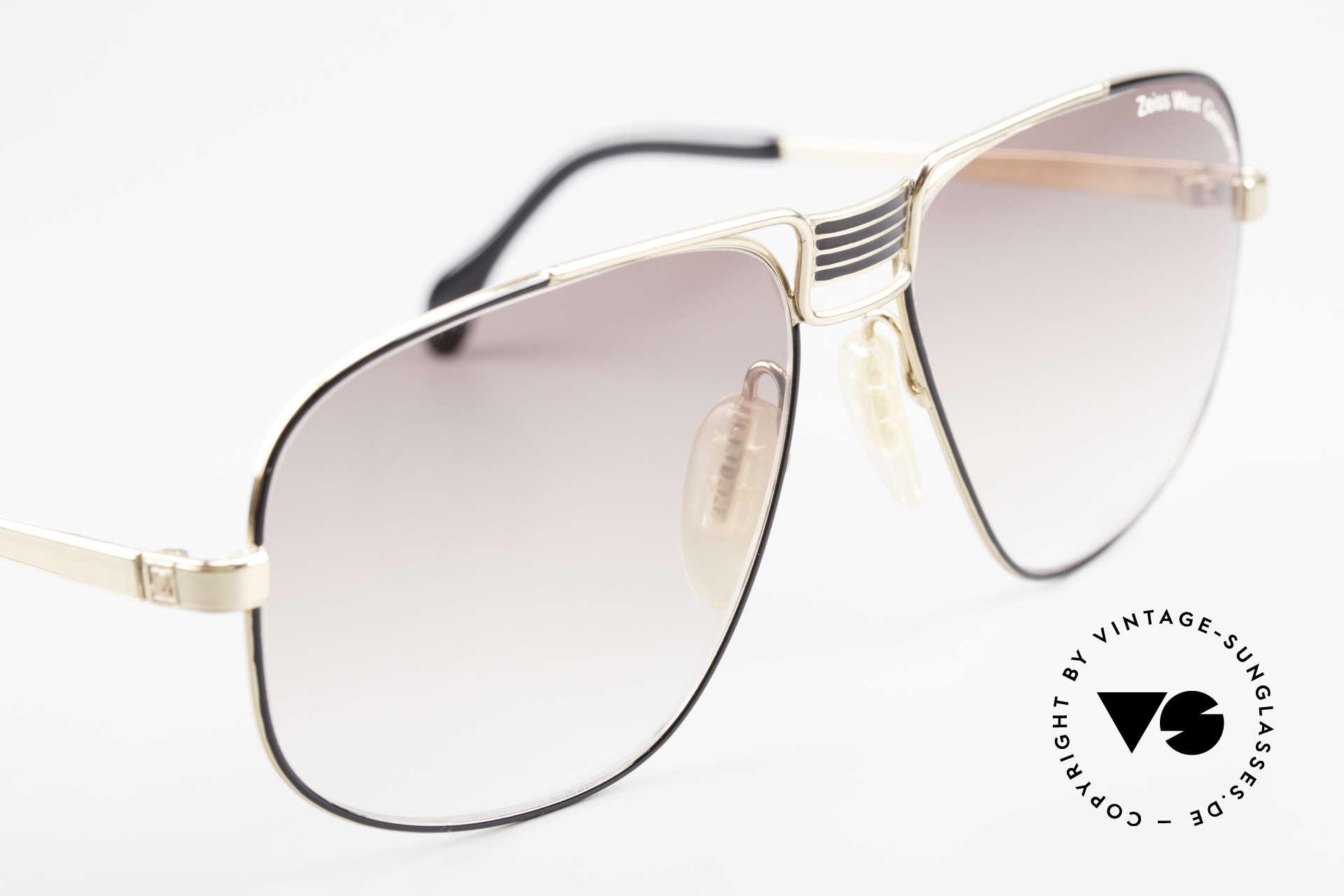 Zeiss 9387 Extra Grosse 80er Herrenbrille, ungetragen (wie alle unsere Zeiss Sonnenbrillen), Passend für Herren