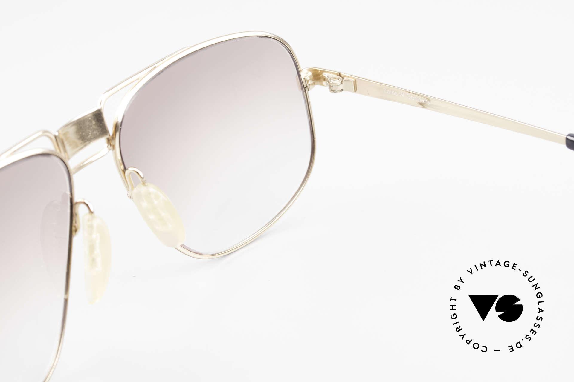 Zeiss 9387 Extra Grosse 80er Herrenbrille, KEINE Retrobrille; ein 30 Jahre altes ORIGINAL!, Passend für Herren