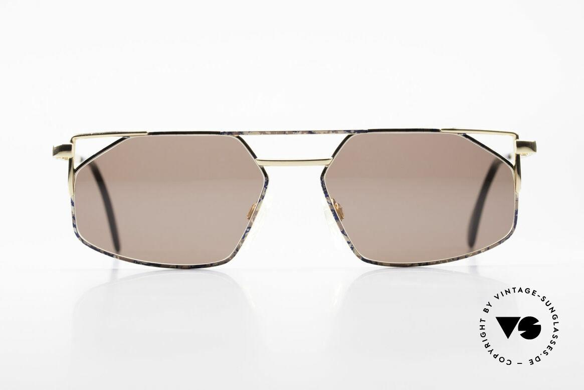 Cazal 751 Rare Vintage Designerbrille, eckiges Rahmendesign mit hochwertiger Lackierung, Passend für Herren