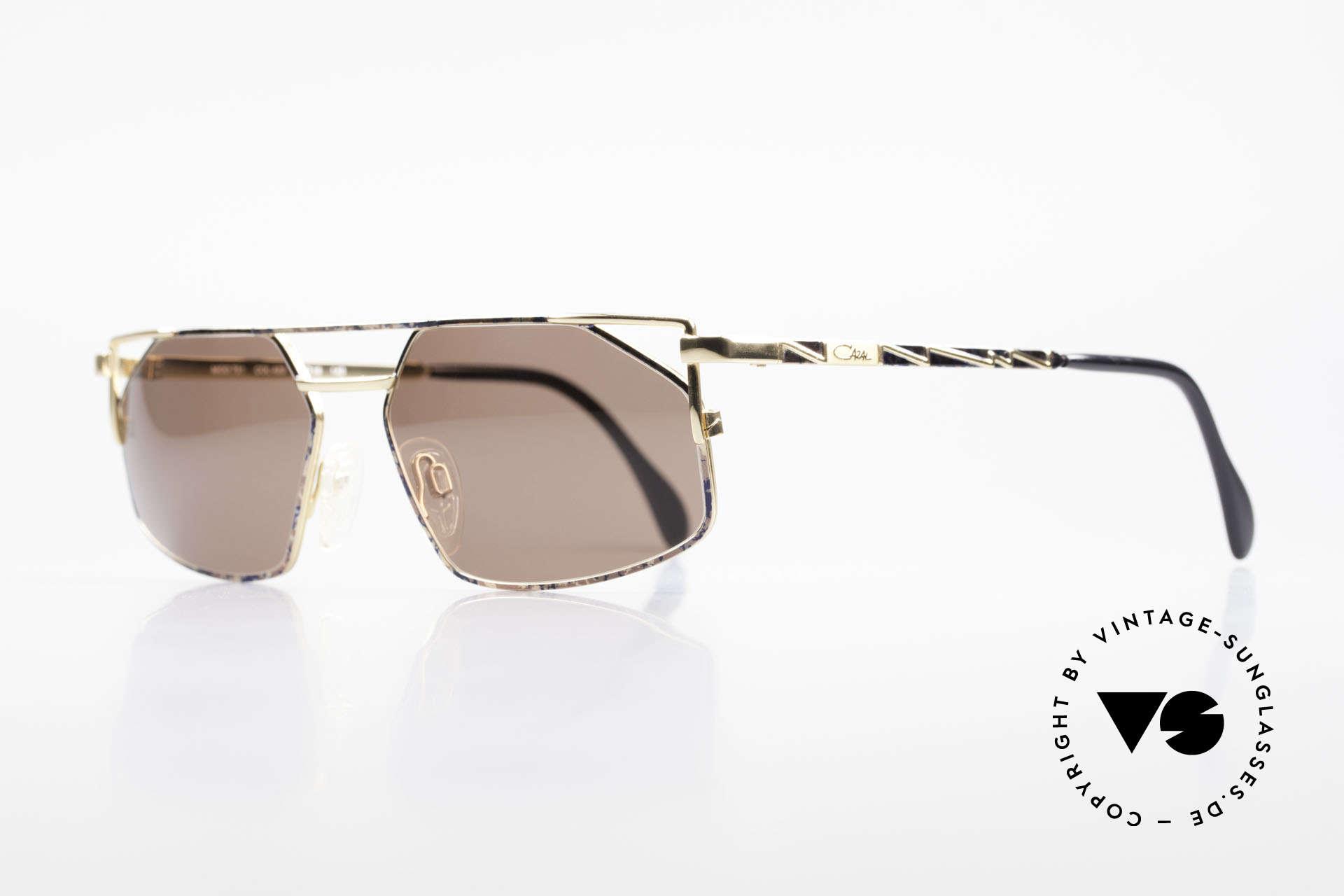 Cazal 751 Rare Vintage Designerbrille, tolles altes Designerstück; als Herrenbrille konzipiert, Passend für Herren