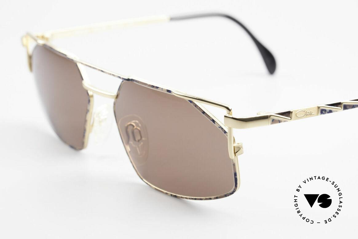 Cazal 751 Rare Vintage Designerbrille, ungetragenes Exemplar in Größe 58-16, 140 (LARGE), Passend für Herren