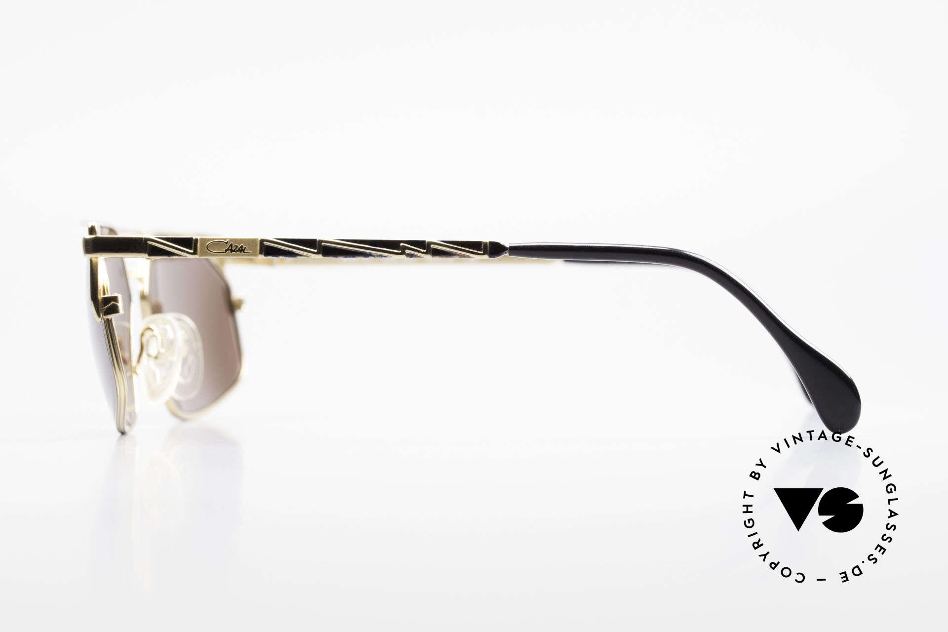 Cazal 751 Rare Vintage Designerbrille, die Fassung ist für optische (Sonnen)Gläser gemacht, Passend für Herren