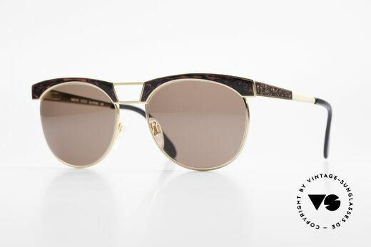 Cazal 741 Panto Stil 90er Sonnenbrille Details