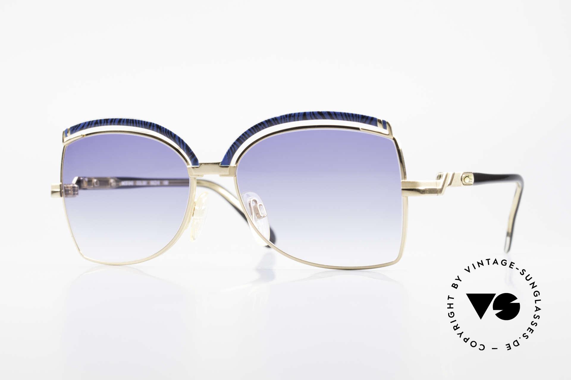 Cazal 240 90er Damen Sonnenbrille, feminine Cazal vintage Sonnenbrille von 1990, Passend für Damen