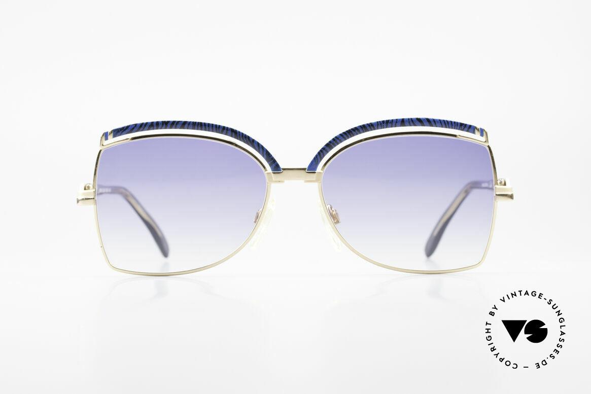 Cazal 240 90er Damen Sonnenbrille, zauberhafte Kreation von Cari Zalloni (CAZAL), Passend für Damen