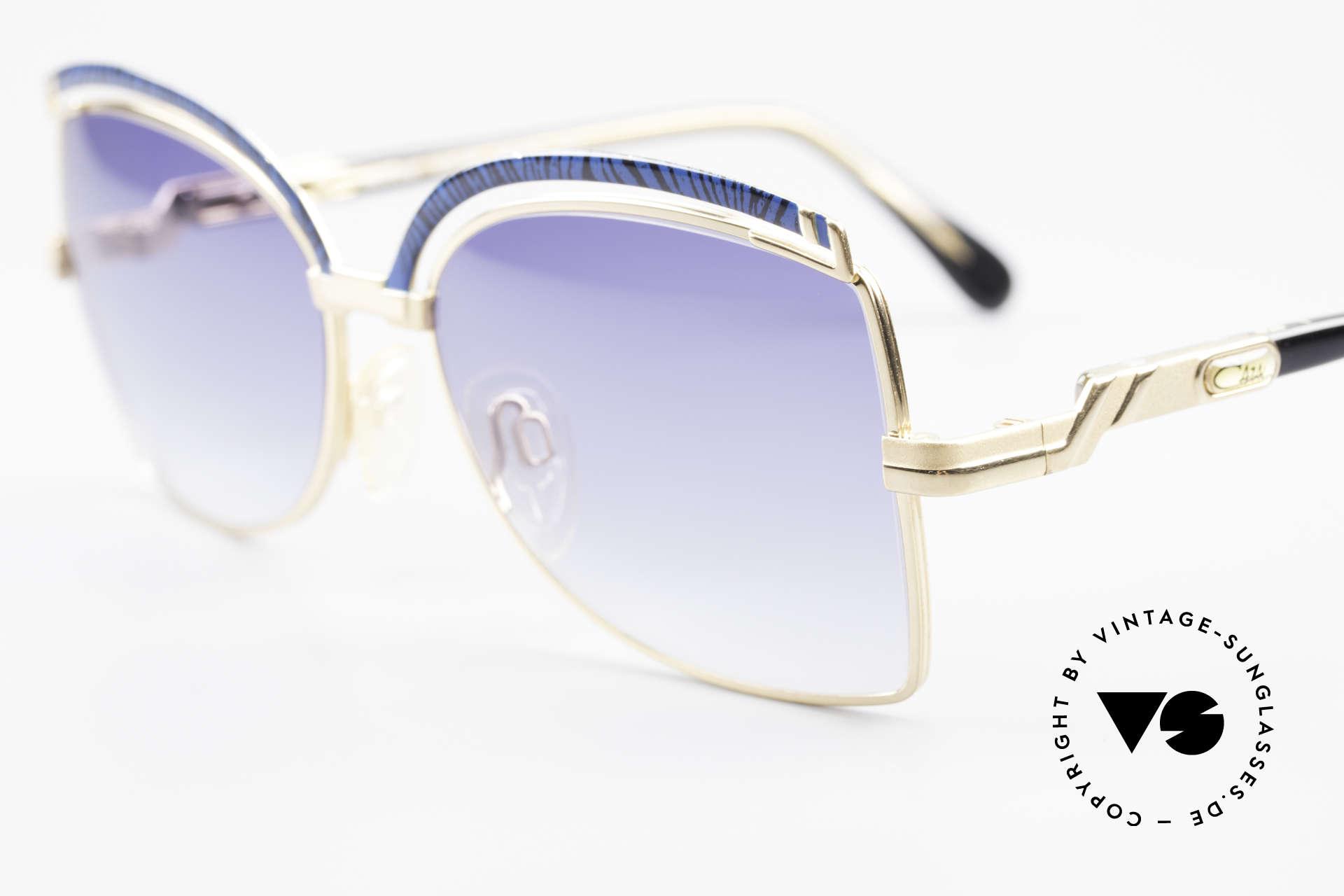 Cazal 240 90er Damen Sonnenbrille, ungetragen (wie alle unsere alten Cazal Modelle), Passend für Damen