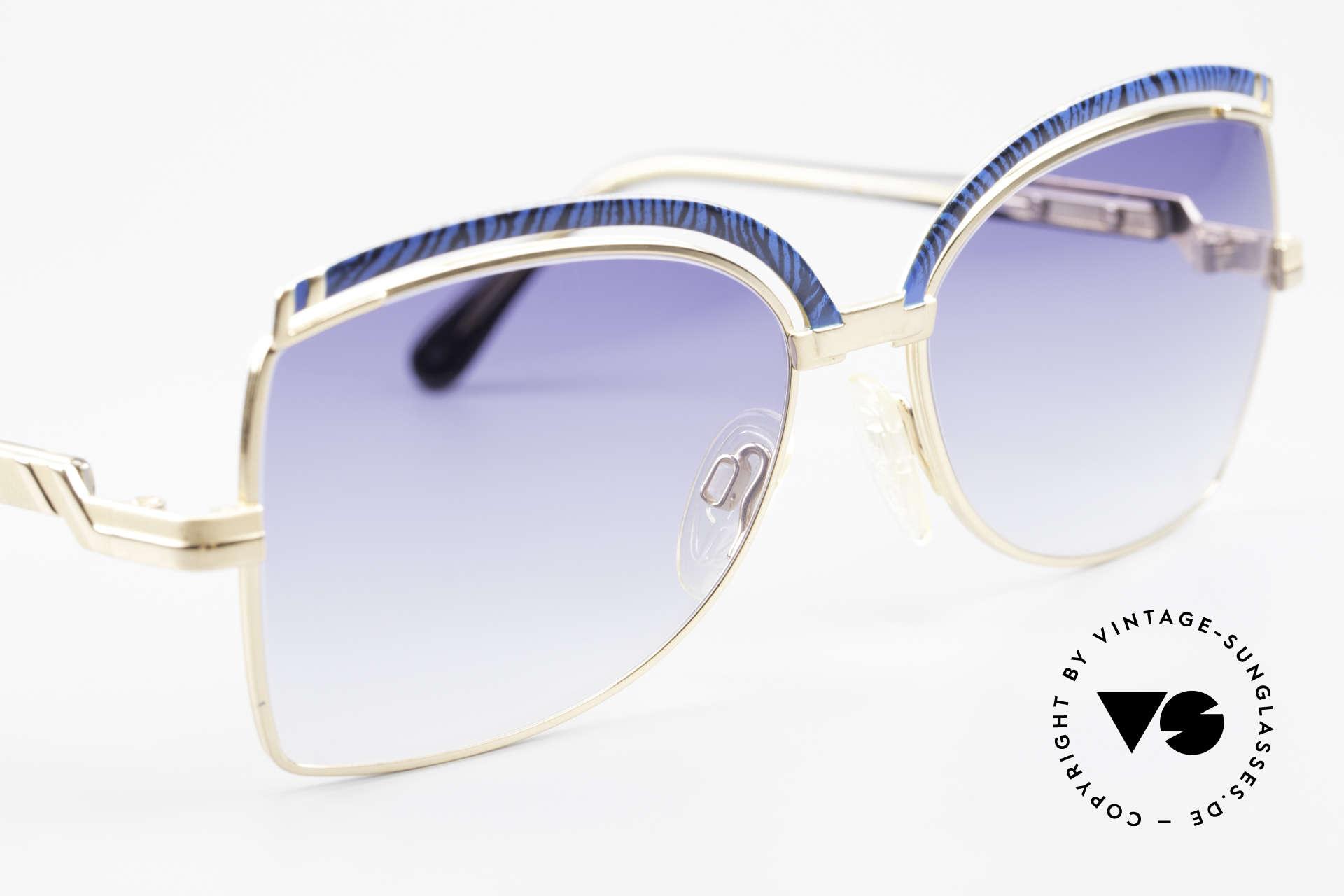 Cazal 240 90er Damen Sonnenbrille, KEINE Retromode; ein ca. 30 Jahre altes Unikat!, Passend für Damen