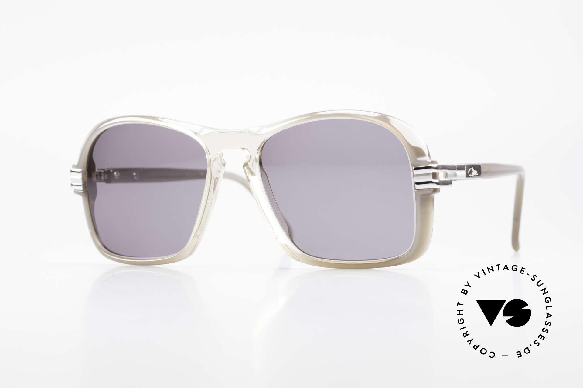 Cazal 606 70er Brille Erste Cazal Serie, extrem seltene Cazal Sonnenbrille aus den späten 70ern, Passend für Herren