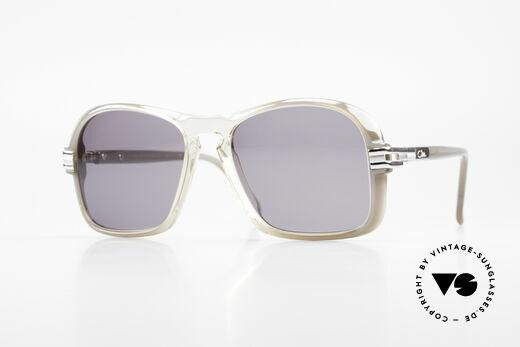 Cazal 606 70er Brille Erste Cazal Serie Details