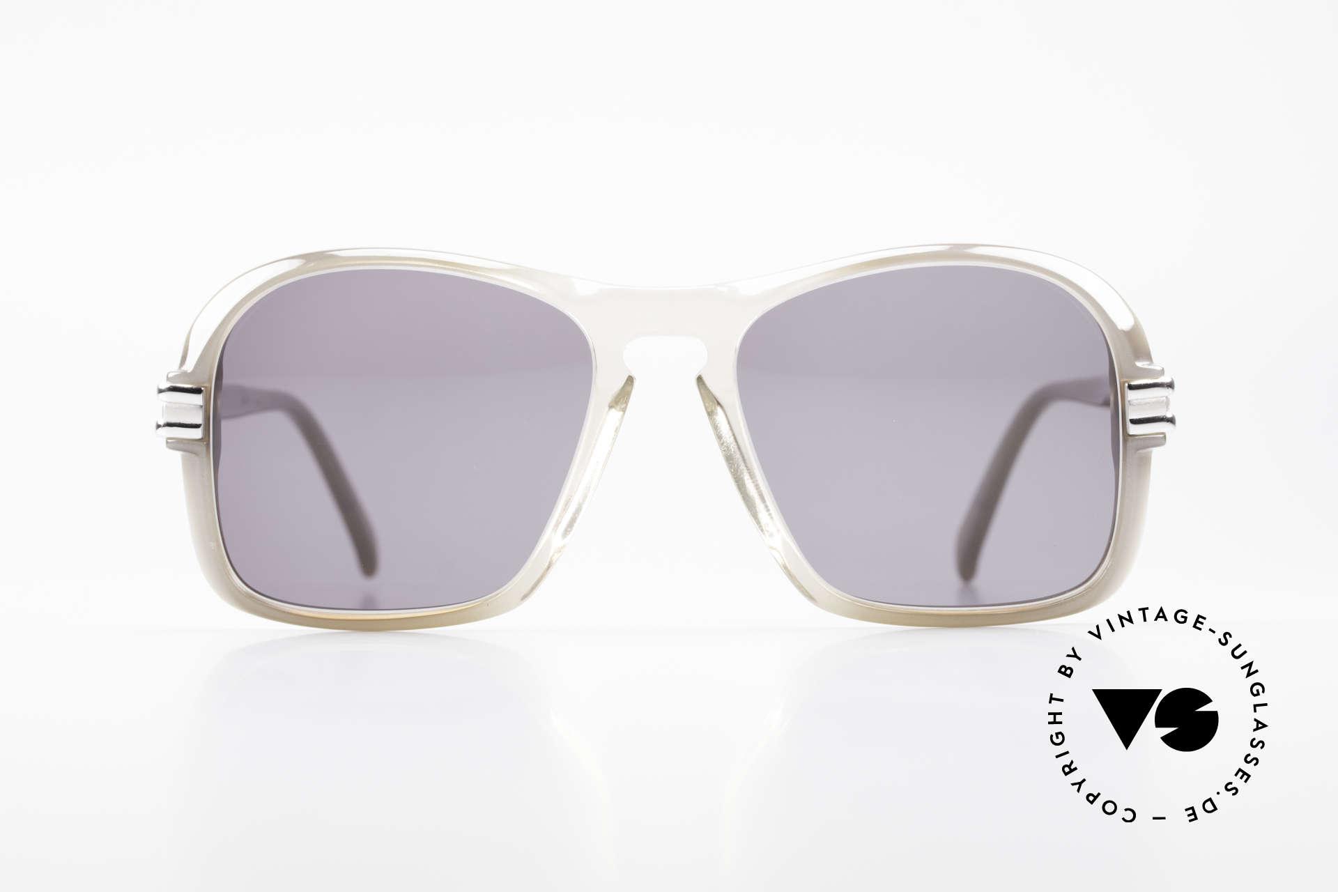 Cazal 606 70er Brille Erste Cazal Serie, Modell aus der ersten Serie von Cari Zalloni überhaupt, Passend für Herren
