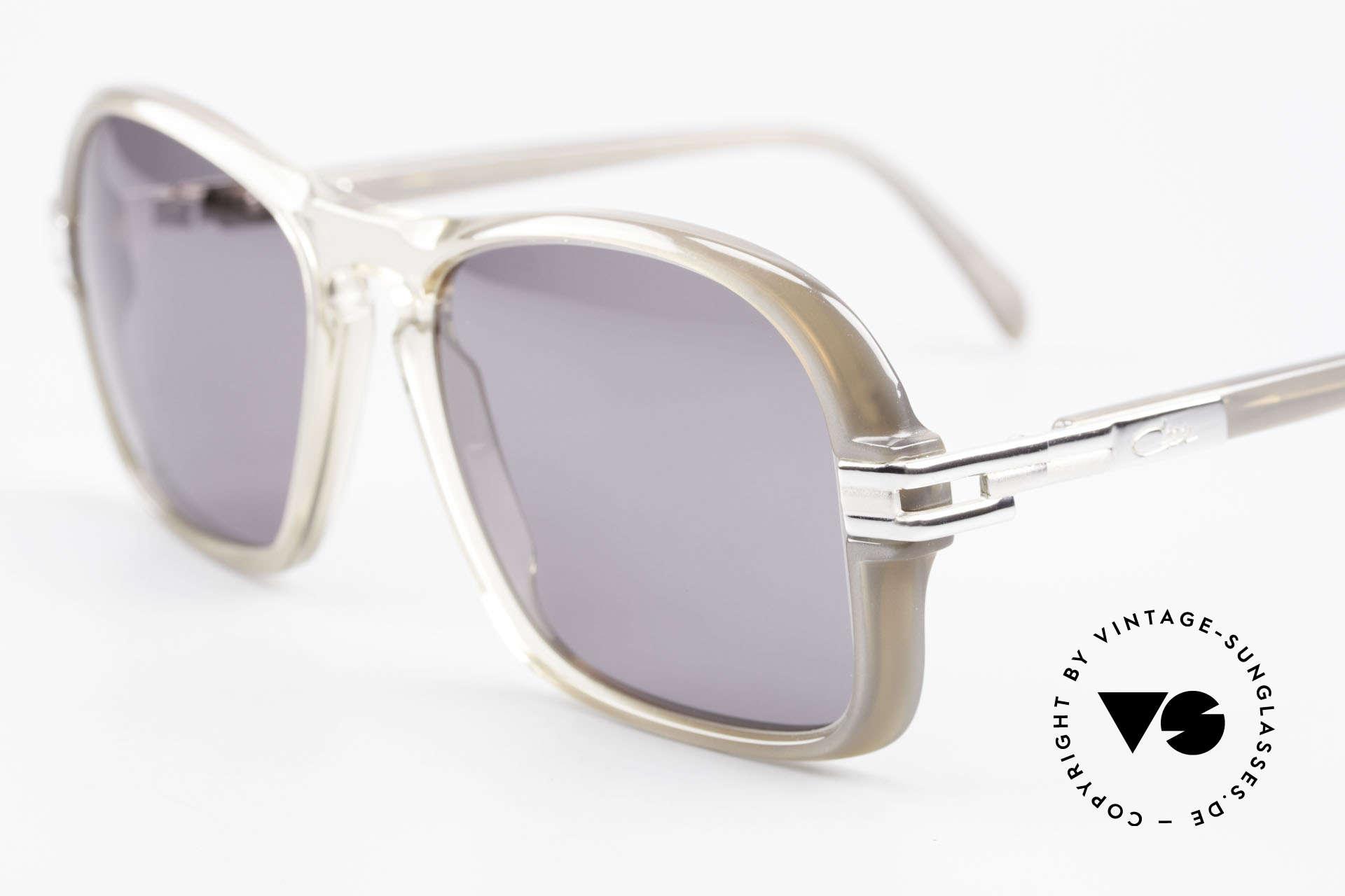 Cazal 606 70er Brille Erste Cazal Serie, im Prinzip ein Stück Zeitgeschichte / Modegeschichte, Passend für Herren