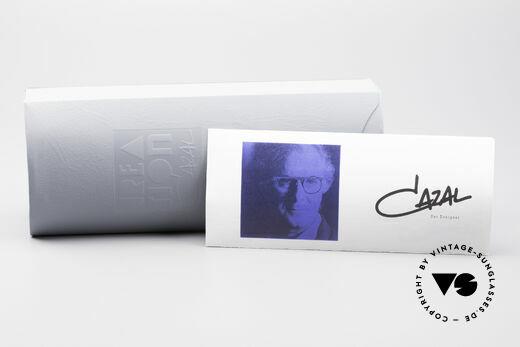 Cazal 606 70er Brille Erste Cazal Serie, KEINE RETROBRILLE, sondern ein 40 Jahre altes Unikat, Passend für Herren