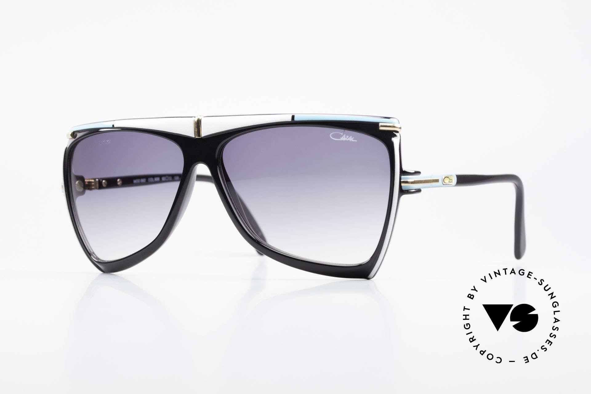 Cazal 862 West Germany Original Cazal, originelle Cazal vintage Designer-Sonnenbrille, Passend für Herren und Damen