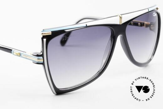 Cazal 862 West Germany Original Cazal, orig. Gläser, dunkelgrau-Verlauf, 100% UV Schutz, Passend für Herren und Damen