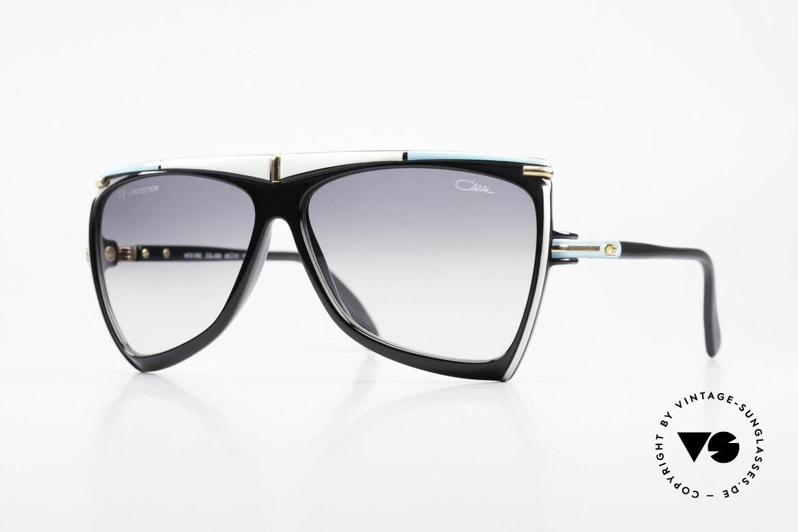 Cazal 862 West Germany Cazal Original, originelle Cazal vintage Designer-Sonnenbrille, Passend für Herren und Damen