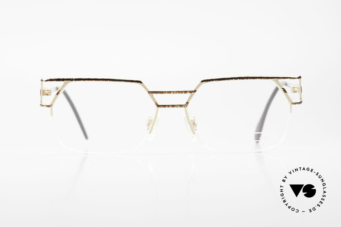 Cazal 248/3 Original 90er No Retro Brille, markante Cazal Designerbrille der frühen 90er Jahre, Passend für Herren