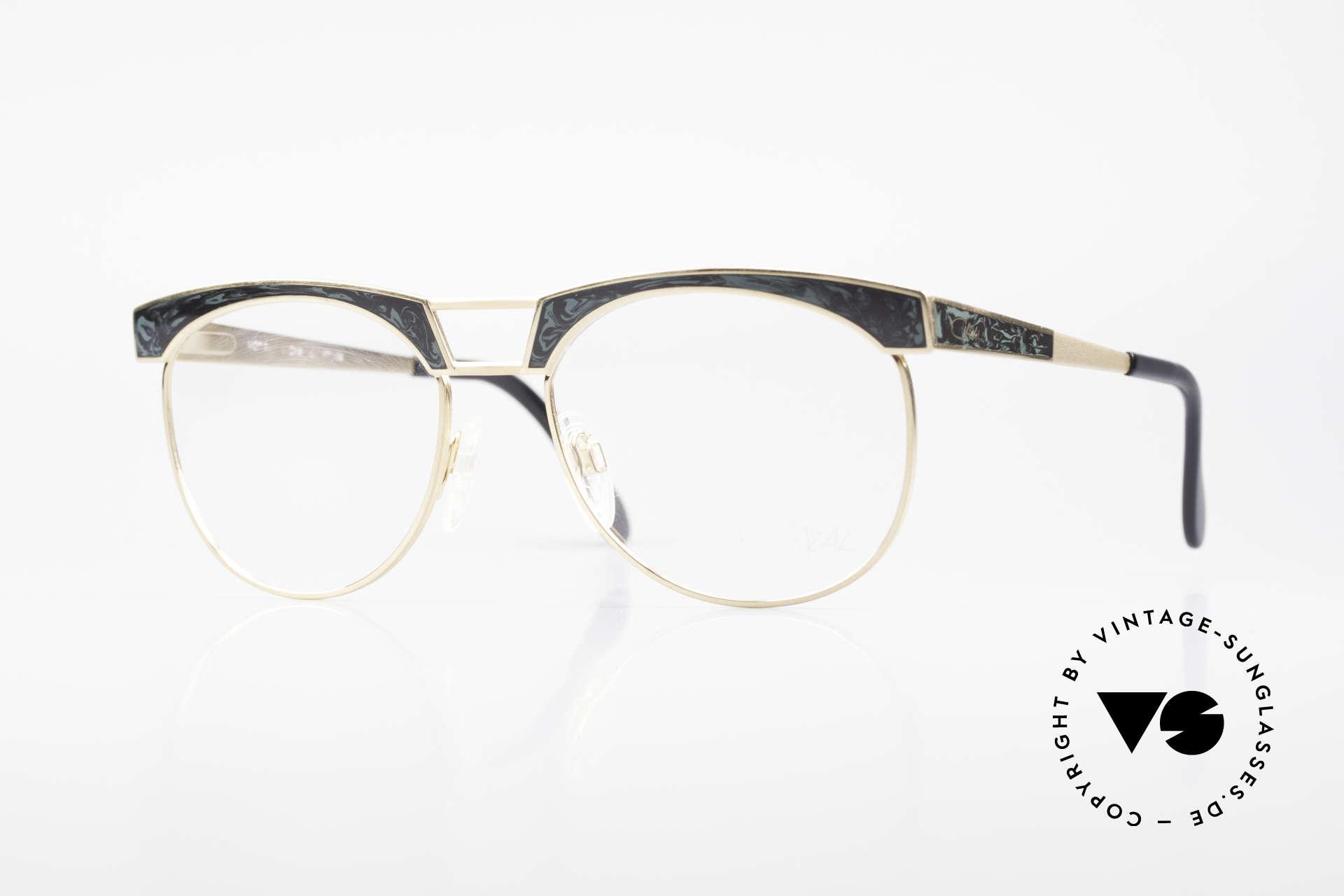 Cazal 741 Panto Stil Designerbrille 90er, luxuriöses vintage Brillengestell der frühen 90er Jahre, Passend für Herren