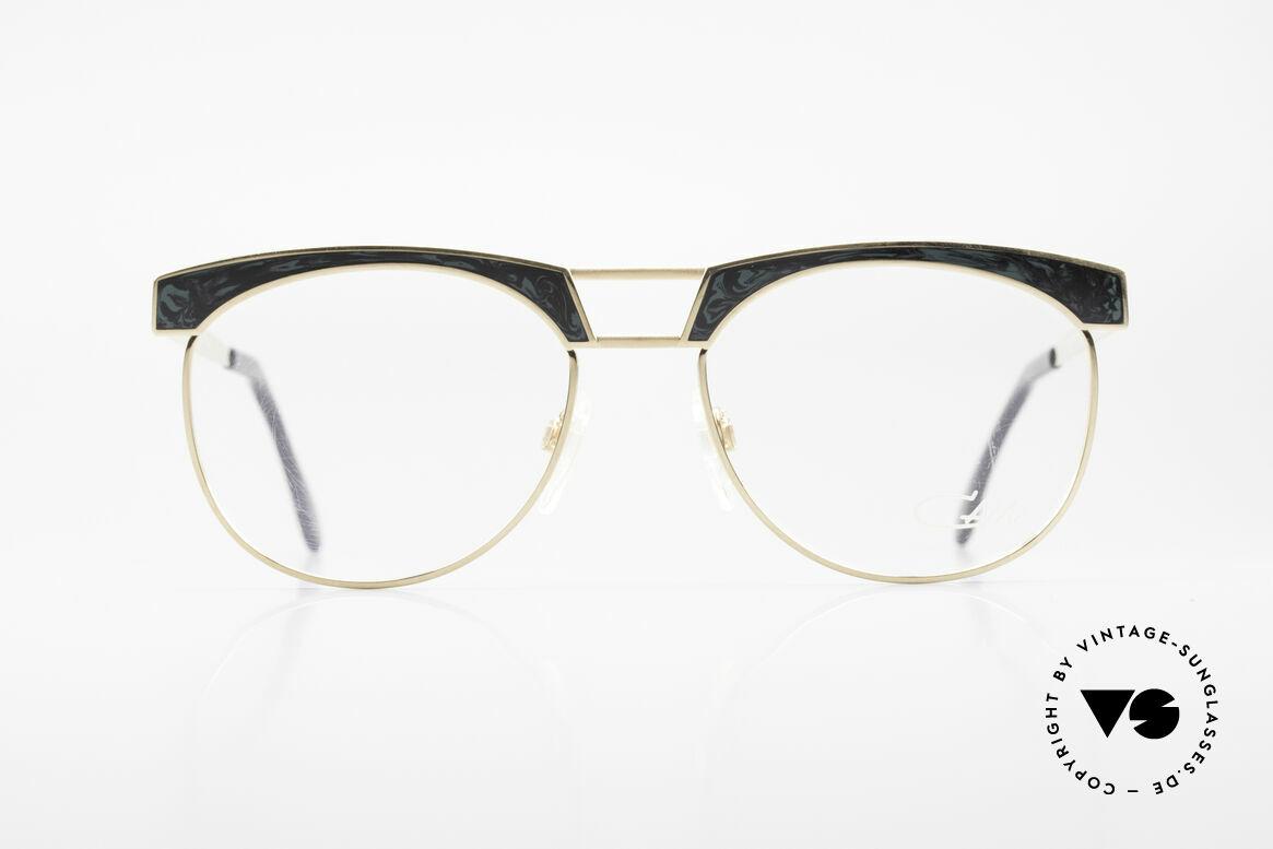 Cazal 741 Panto Stil Designerbrille 90er, Pantoform interpretiert von CAri ZALloni (Mr. CAZAL), Passend für Herren