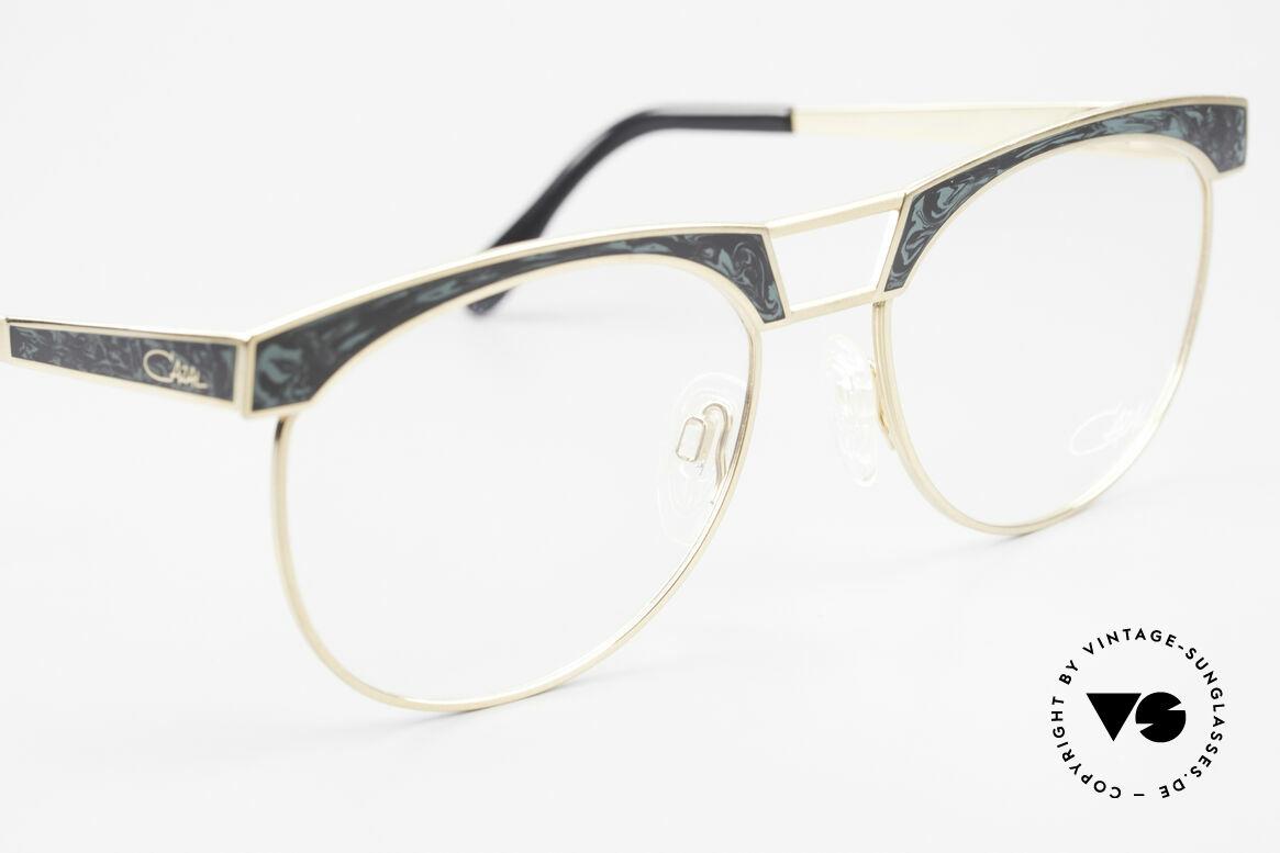 Cazal 741 Panto Stil Designerbrille 90er, ungetragen (wie alle unsere alten CAZAL Fassungen), Passend für Herren