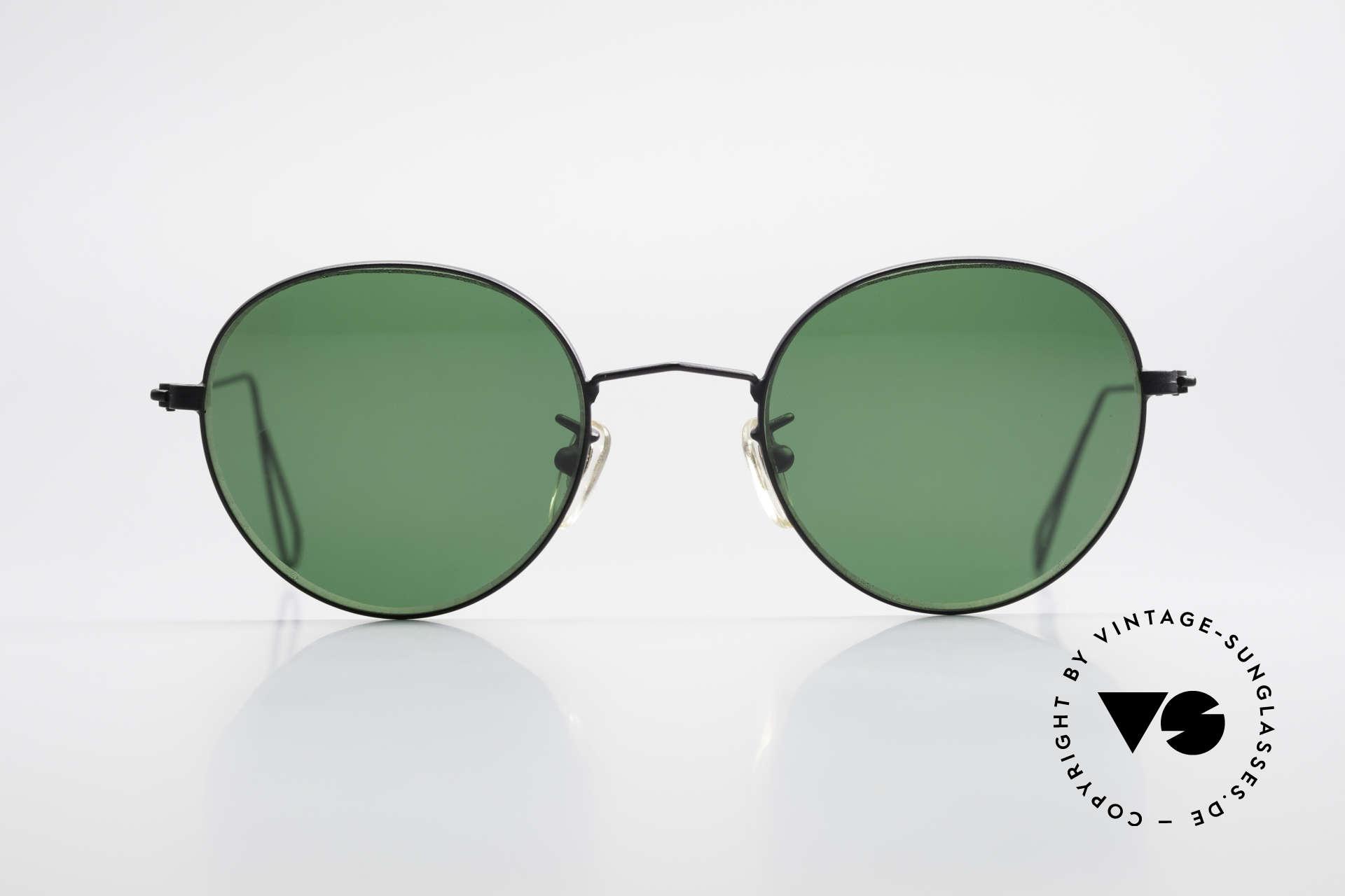 Cutler And Gross 0306 Vintage Panto Sonnenbrille, klassisch, zeitlose Understatement Luxus-Sonnenbrille, Passend für Herren und Damen