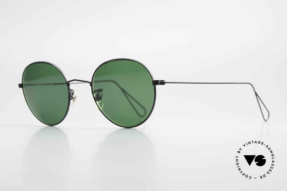 Cutler And Gross 0306 Vintage Panto Sonnenbrille, stilvoll & unverwechselbar; auch ohne pompöse Logos, Passend für Herren und Damen