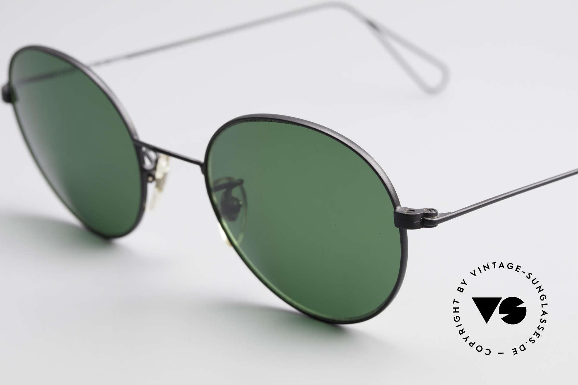 Cutler And Gross 0306 Vintage Panto Sonnenbrille, ungetragen; Modell ist auch beliebig optisch verglasbar, Passend für Herren und Damen