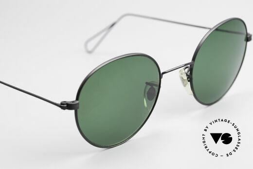 Cutler And Gross 0306 Vintage Panto Sonnenbrille, KEINE Retrobrille, sondern ein 20 Jahre altes Original!, Passend für Herren und Damen
