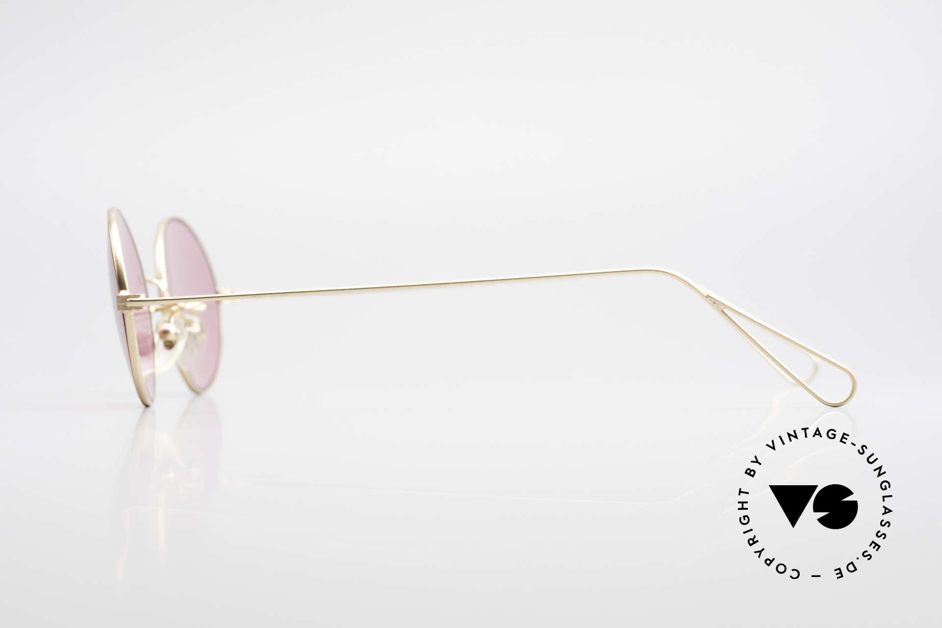 Cutler And Gross 0305 Ovale Sonnenbrille Vintage, Materialien und deren Verarbeitung auf Spitzen-Niveau, Passend für Herren und Damen