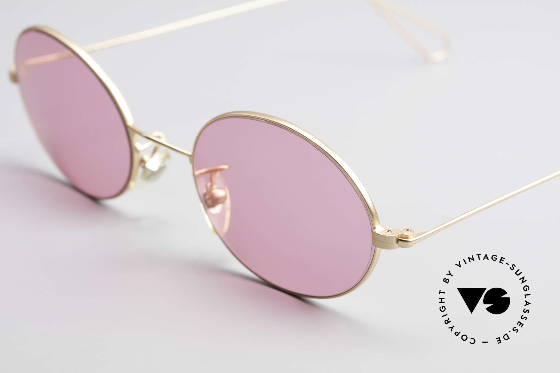 Cutler And Gross 0305 Ovale Sonnenbrille Vintage, ungetragen; Modell ist auch beliebig optisch verglasbar, Passend für Herren und Damen