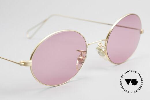 Cutler And Gross 0305 Ovale Sonnenbrille Vintage, KEINE Retrobrille, sondern ein 20 Jahre altes Original!, Passend für Herren und Damen
