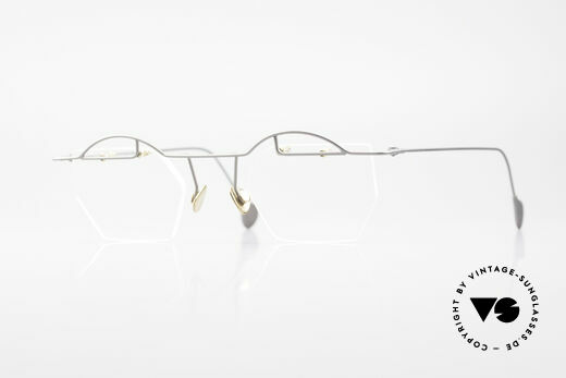 Paul Chiol 12 Randlose Kunstbrille Vintage Details