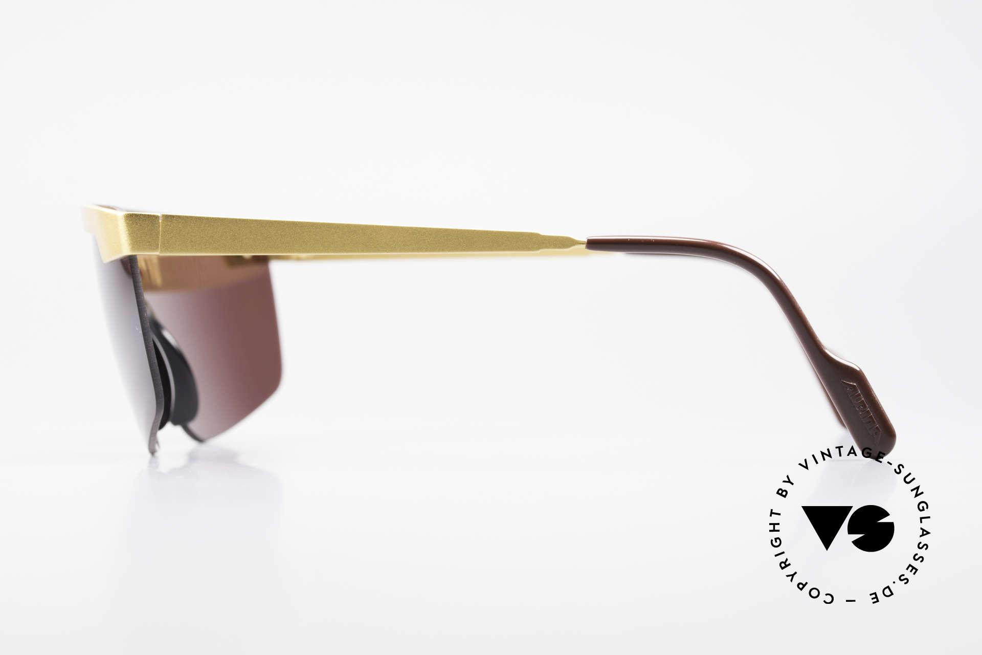 Alpina M57 Vintage Brille Panorama View, ungetragen (wie all unsere Alpina Sonnenbrillen), Passend für Herren und Damen