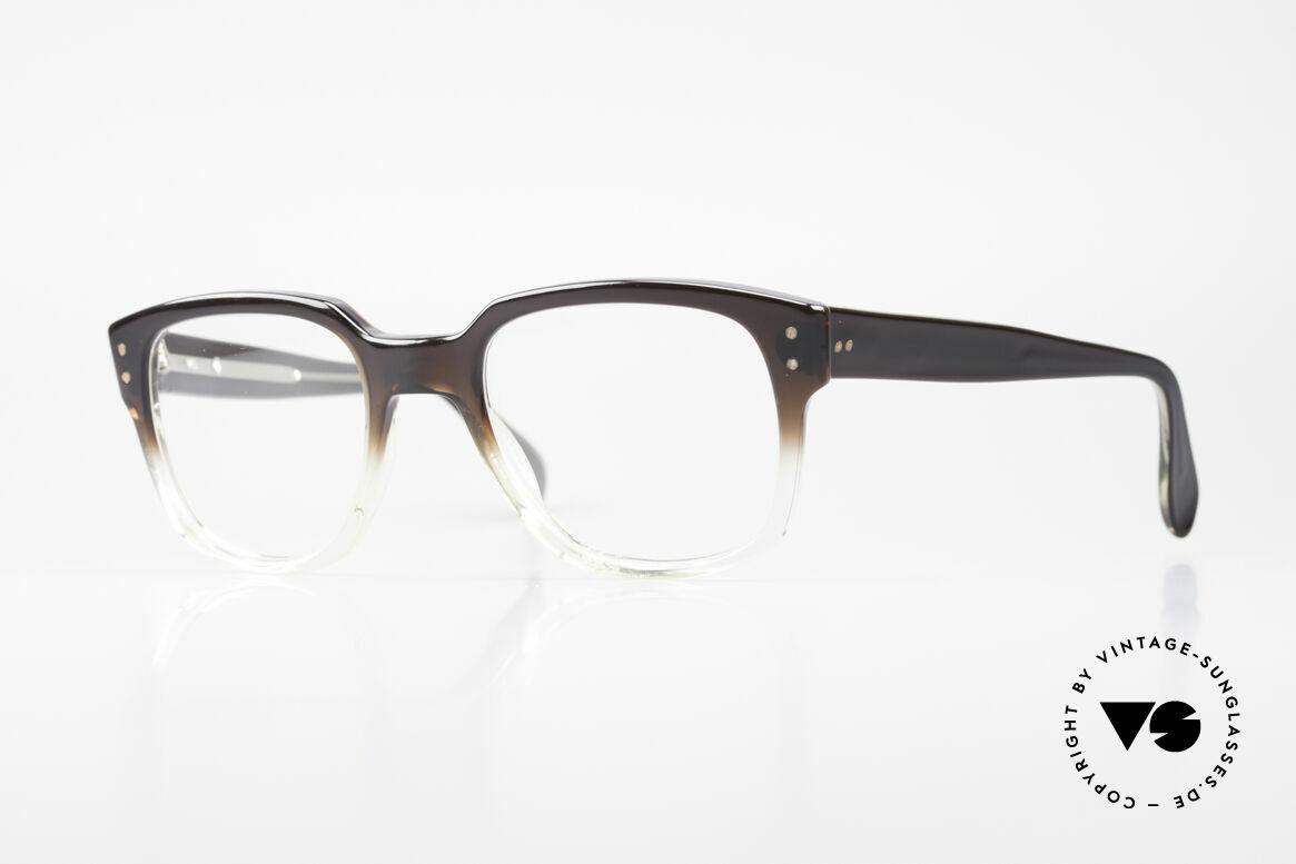 Metzler 447 Vintage Brille Nerd Hipster, Metzler Brillenfassung in unglaublicher Top-Qualität, Passend für Herren