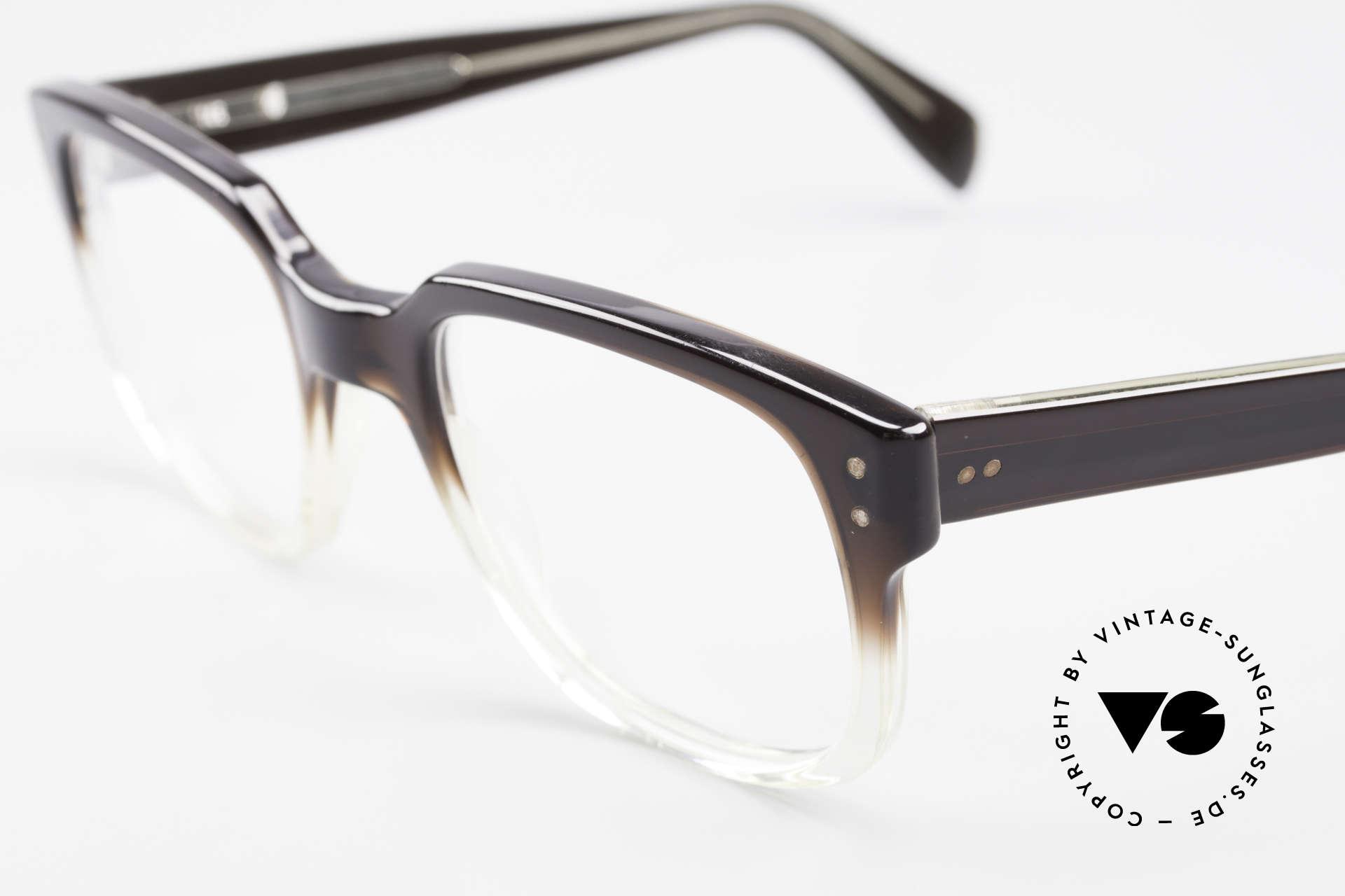 Metzler 447 Vintage Brille Nerd Hipster, 2nd hand Modell in exzellentem Zustand (neuwertig), Passend für Herren